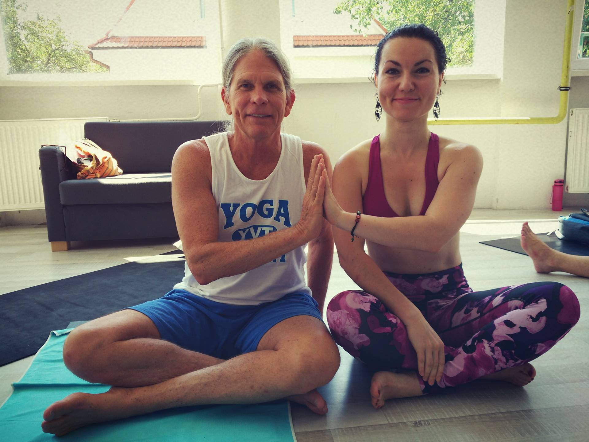 Jana Mikšíčková, David Williams, jóga, yoga